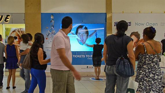 Fly to Rome Crossmedia Campaign